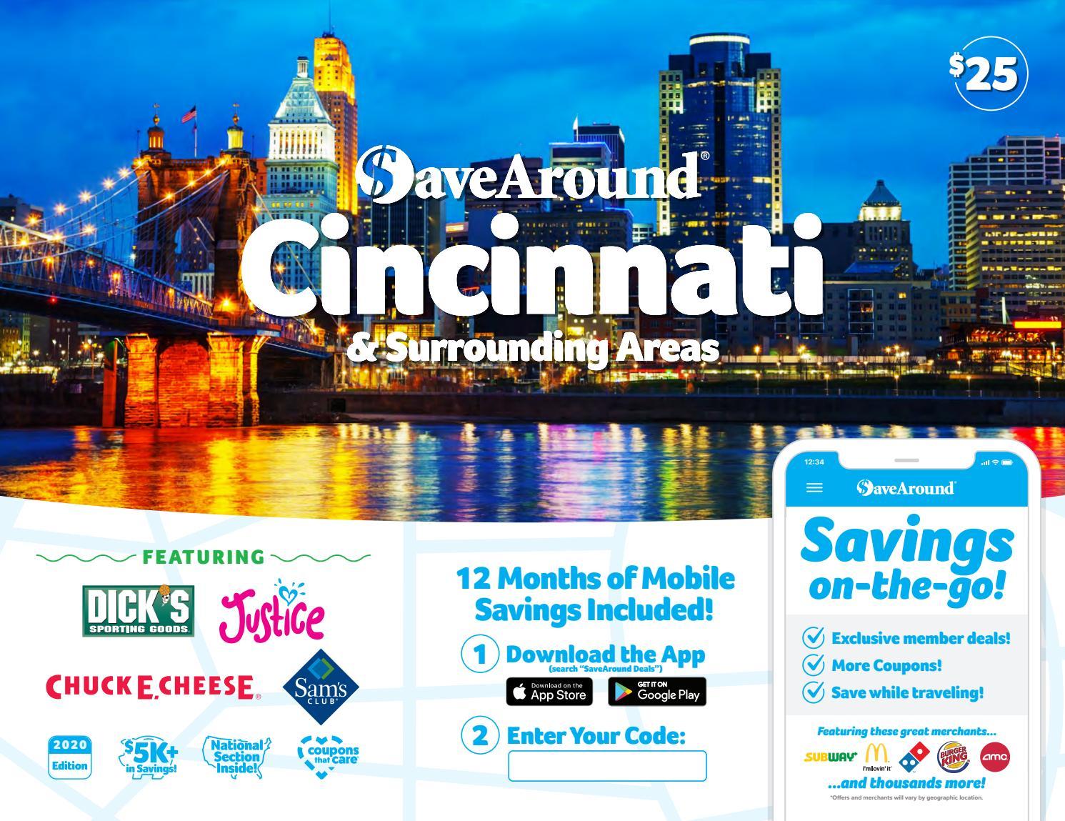 Cincinnati, OH by SaveAround - issuu