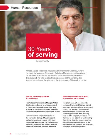 Page 20 of 30 Years of Serving