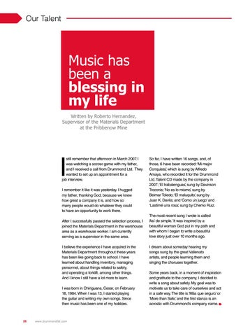 Page 26 of Music has been a blessing...