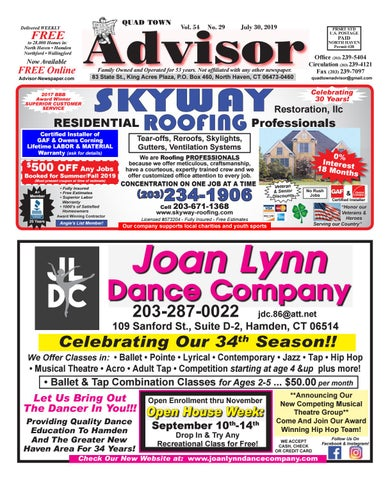 The Advisor July 31 2019 by The Advisor Newspaper issuu