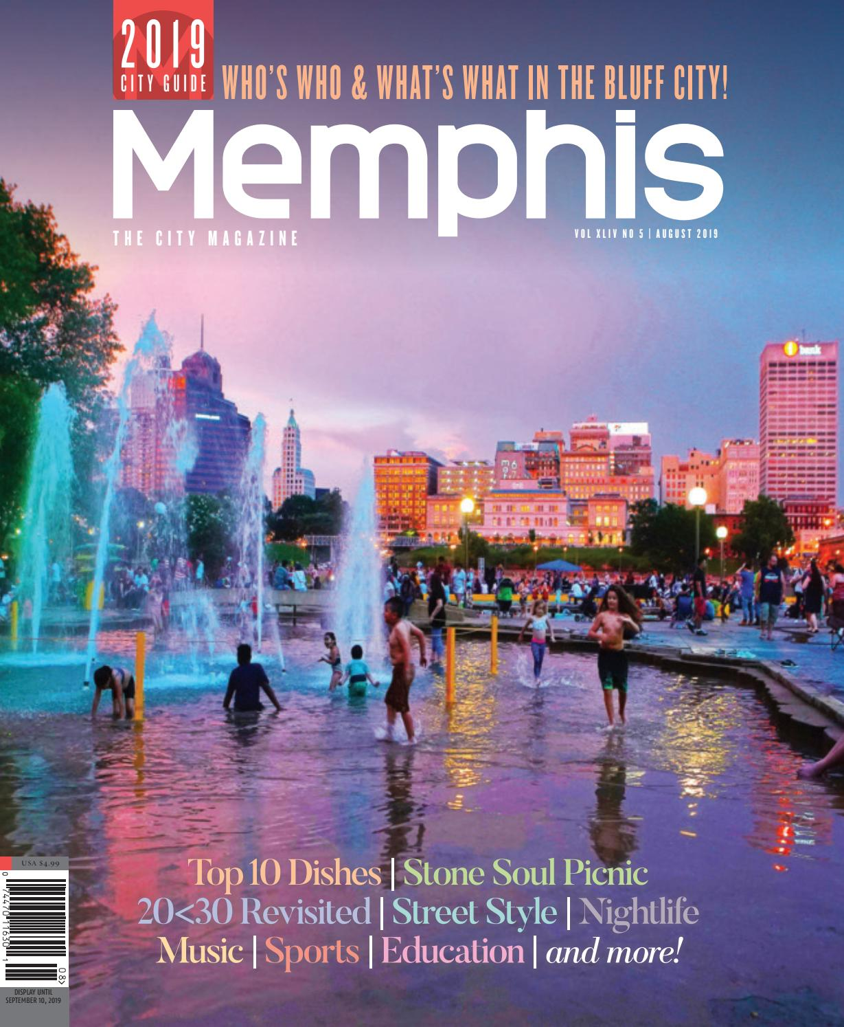 Memphis Magazine August 2019 By Contemporary Media Issuu