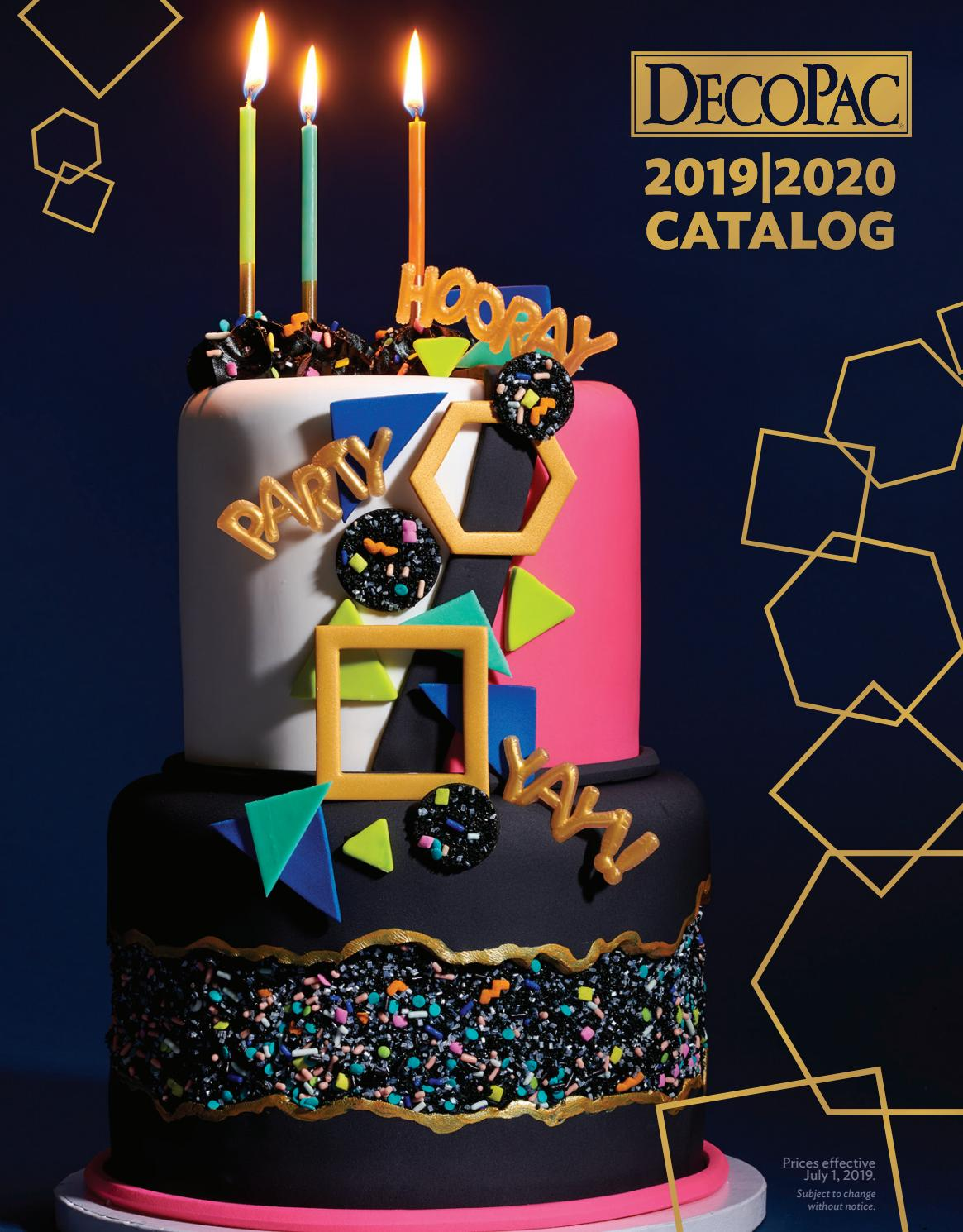3433bffb 2019-20 Catalog by DecoPac - issuu