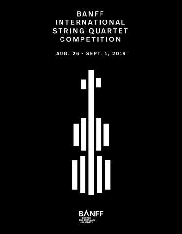 14th Banff International String Quartet Competition 2019