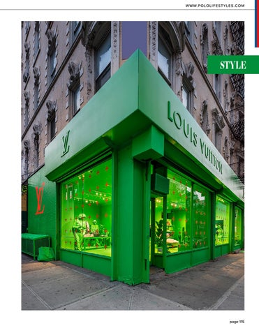 Page 115 of Louis Vuitton Goes Green in NYC