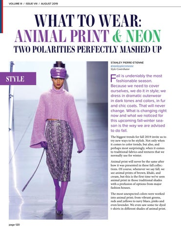 Page 120 of What to Wear: Animal Print & Neon