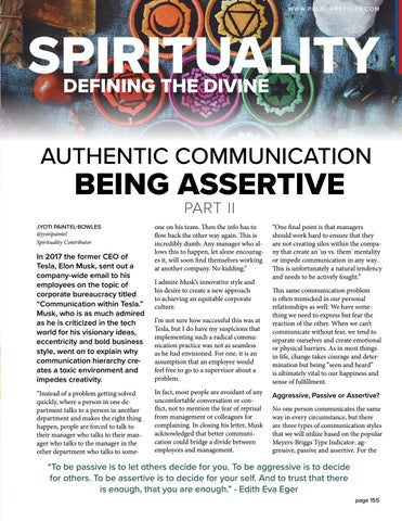 Page 155 of Authentic Communication: Being Assertive Part II