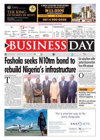 BusinessDay 30 Jul 2019 by BusinessDay - issuu