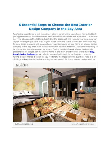 5 Essential Steps To Choose The Best Interior Design Company ...