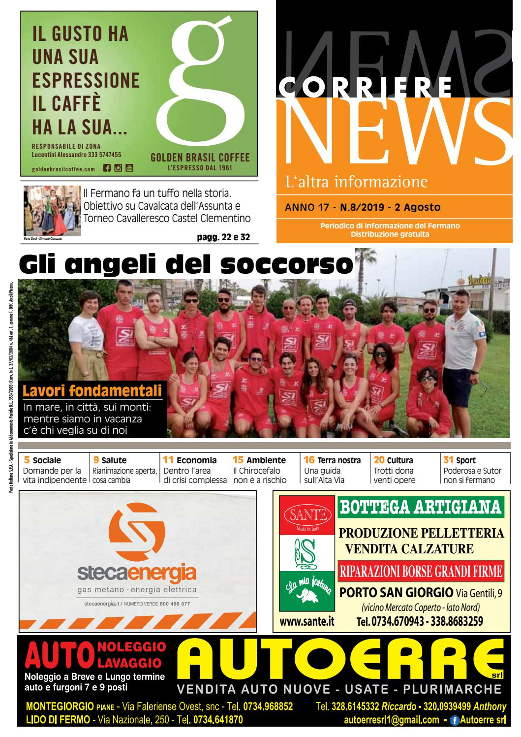 CORRIERE NEWS AGOSTO 2019 by Corriere News issuu