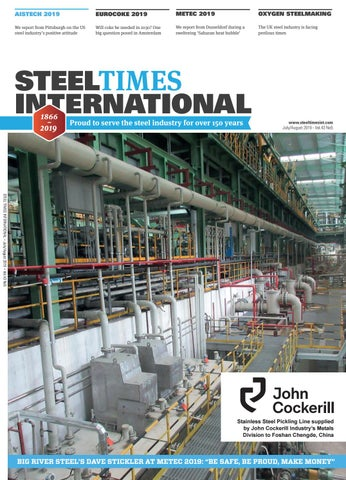 Steel Times International July August 2019 By Quartz