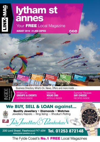 LINK-MAG | Lytham St Annes | August 2019 by LINK-MAG - issuu