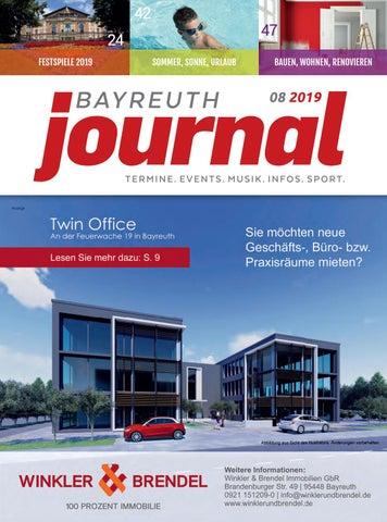Bayreuth Journal August 2019