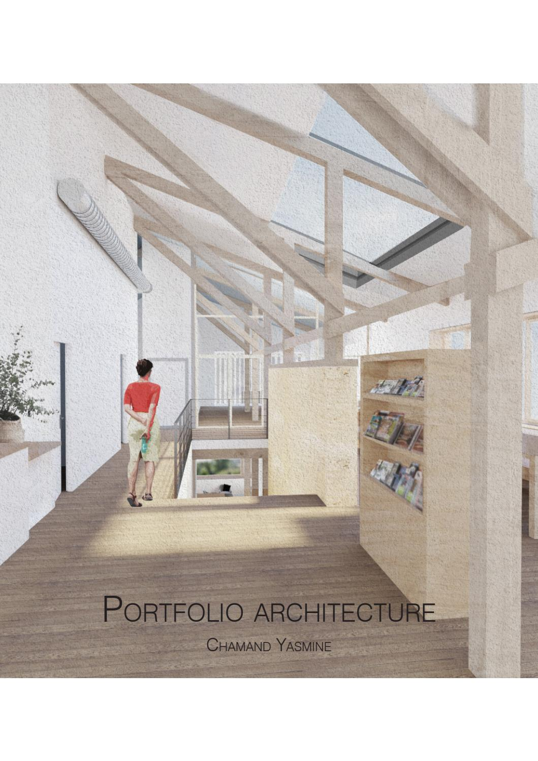 portfolio d u0026 39 architecture - chamand yasmine