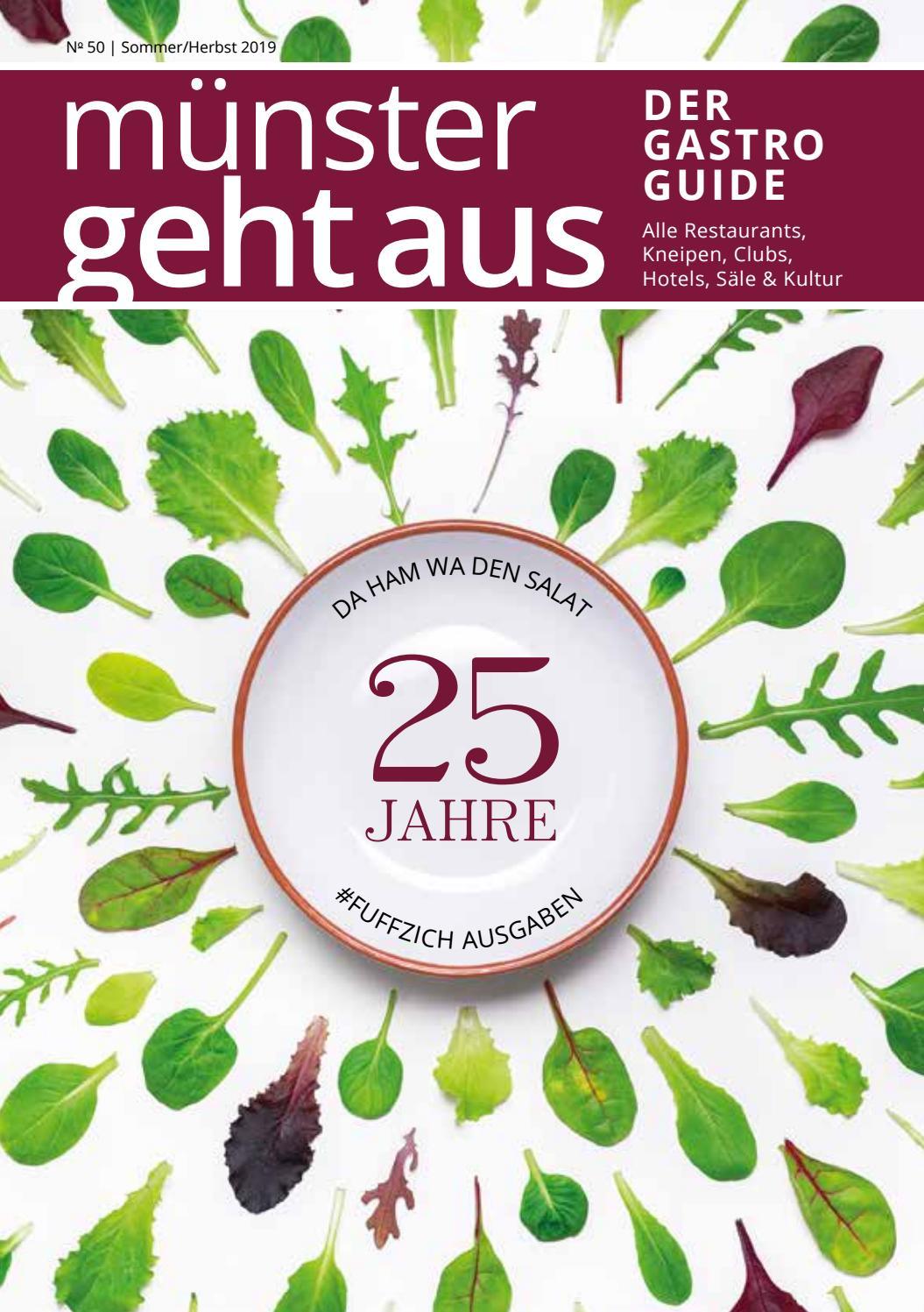 Münster Geht Aus   Sommer/Herbst Ausgabe 9 by Tips Verlag ...