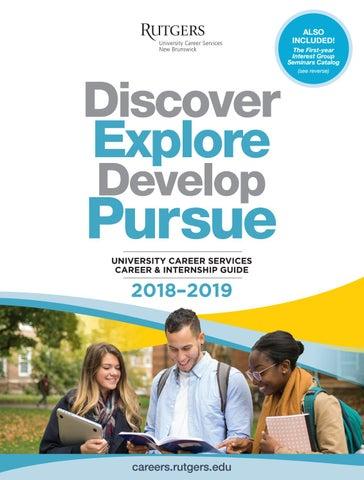 2018-2019 University Career Services Career and Internship