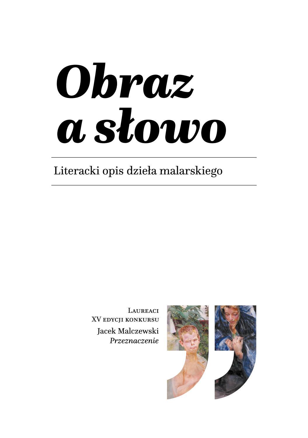 Obraz A Słowo 2019 By Muzeum Górnośląskie Issuu