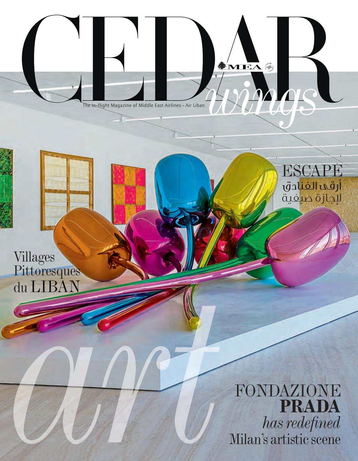 Cedar Wings Magazine August September 2019 By