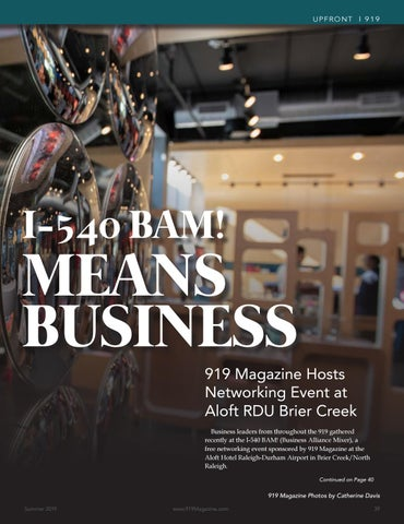 Page 39 of Networking in Brier Creek returns