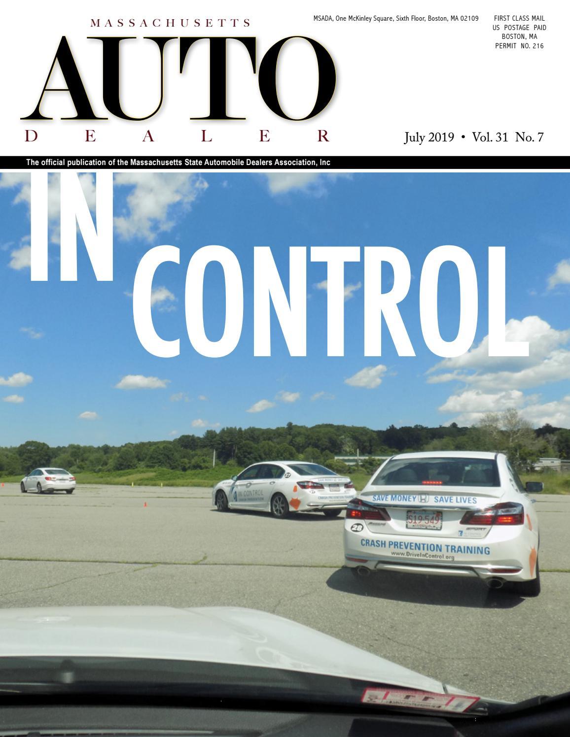 Machusetts Auto Dealer Magazine July