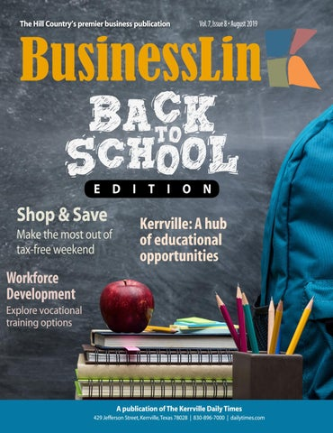 BusinessLink August 2019 by Kerrville Daily Times - issuu