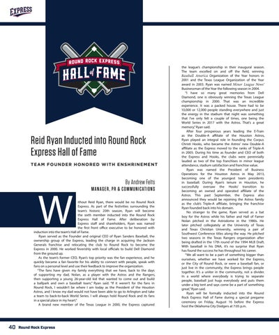 Page 40 of Reid Ryan, 2019 Express Hall of Fame Inductee