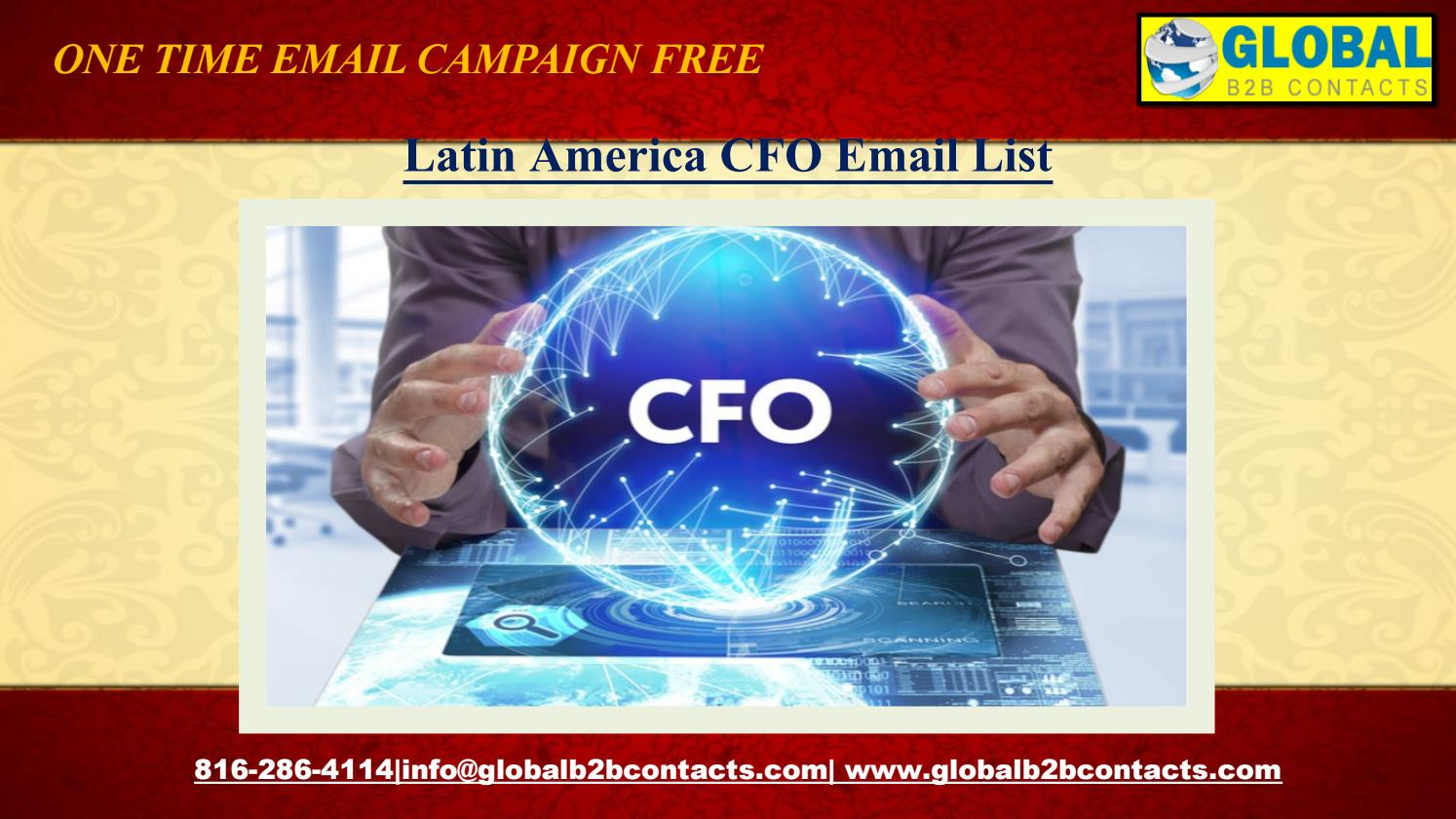 Latin America CFO Email List by dylangloria99 - issuu