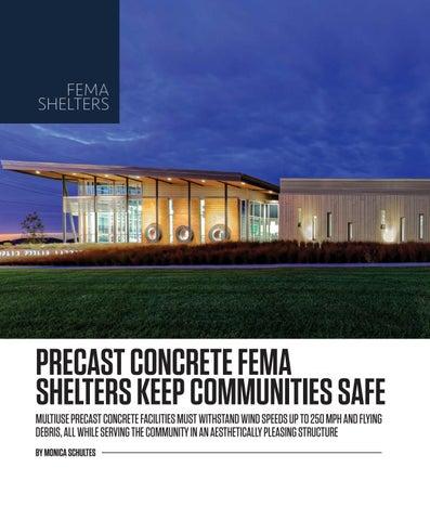Page 12 of Precast Concrete Fema Shelters Keep Communities Safe