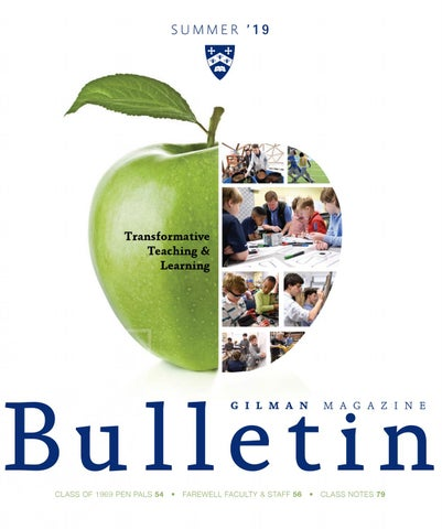 Summer 2019 Bulletin by Gilman School - issuu