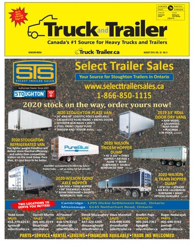 Truck and Trailer August 2019 by Annex Business Media - issuu