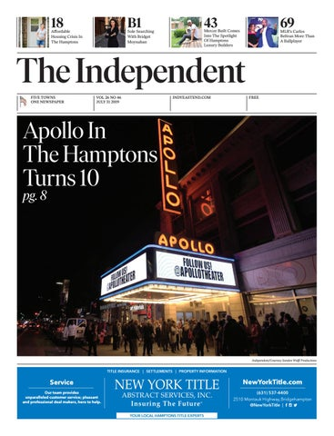 The Indepenent 073119 by The Independent Newspaper - issuu