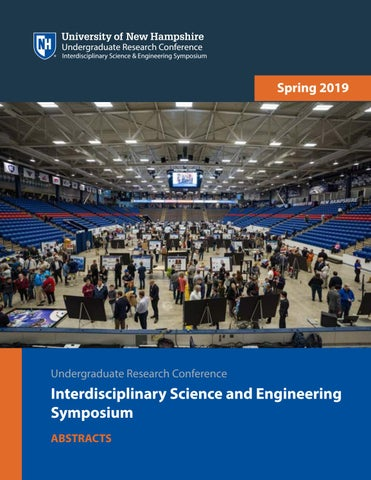 2019 UNH URC ISE Abstracts by UNH URC ISE - issuu