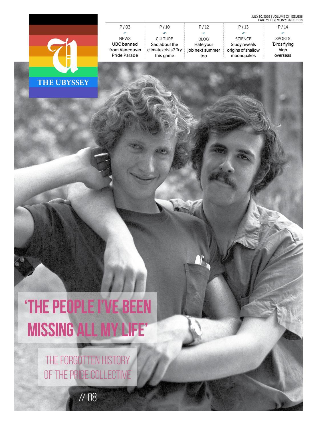 UBC gay dating