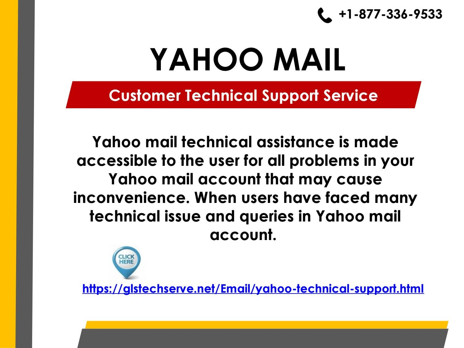 Yahoo Mail Customer Tech Support Service Number +1-877-336-9533