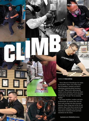 Page 19 of Industry Awards: Steady Climb