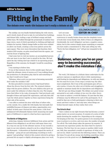 Page 6 of Editor's Forum: Fitting in the Family