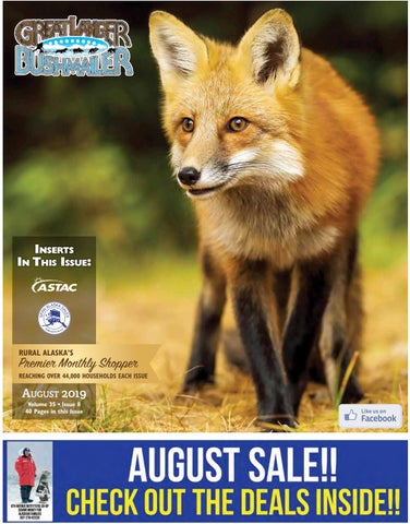 2019 August Great Lander Bush Mailer by Anchorage Printing