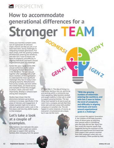 Page 12 of How to Accommodate Generational Differences for a Stronger Team