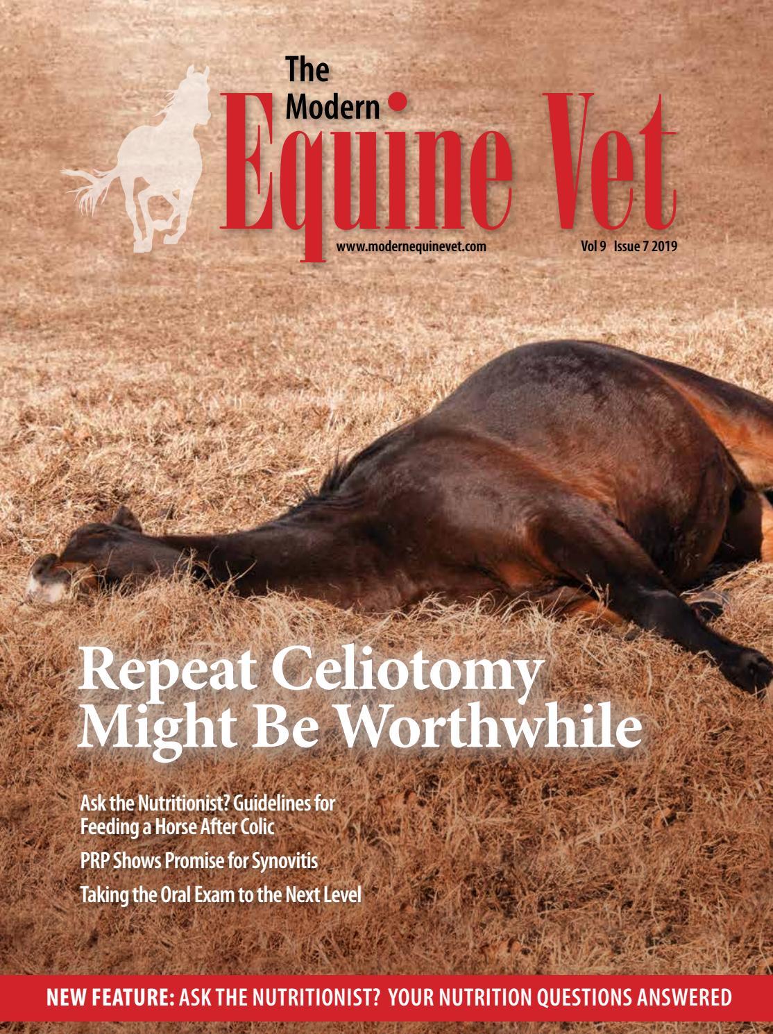 The Modern Equine Vet July 2019
