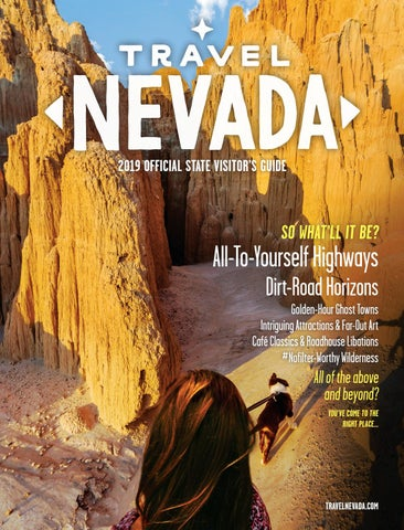 Travel Nevada's 2019 State Visitor's Guide by Nevada