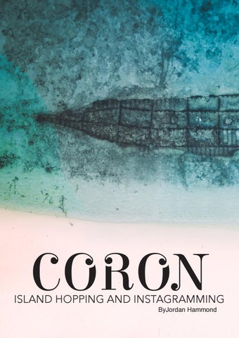 Page 8 of Coron: Island Hopping and Instagramming