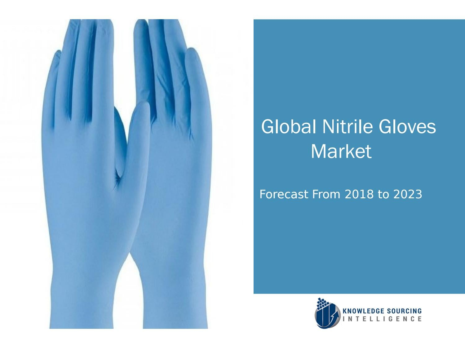 Global Nitrile Gloves Market Forecasts From 2019 To 2024 By