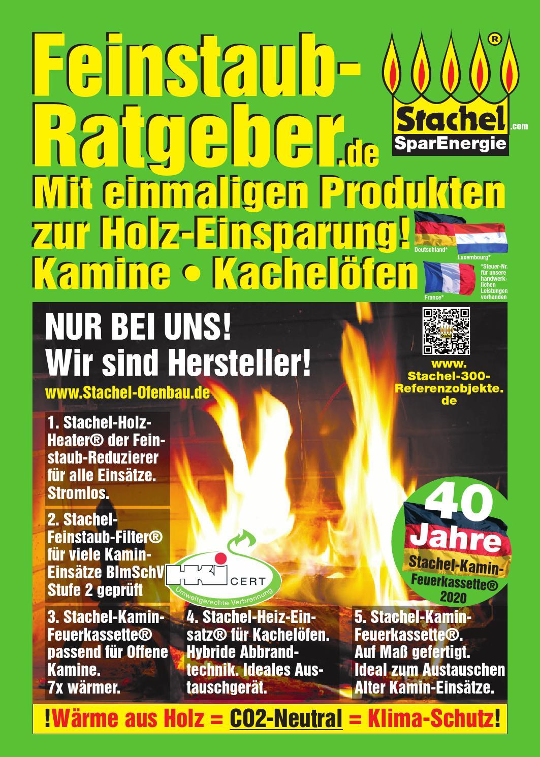 Stachel Feinstaub Ratgeber By Saarbrucker Verlagsservice Gmbh Issuu