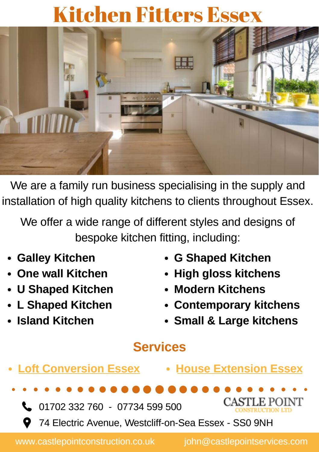 Kitchen Fitters Essex By Castle Point Construction Issuu