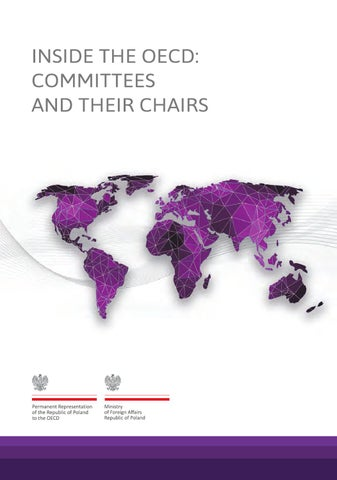 Inside the OECD: Commitees and their chairs by Ministry of