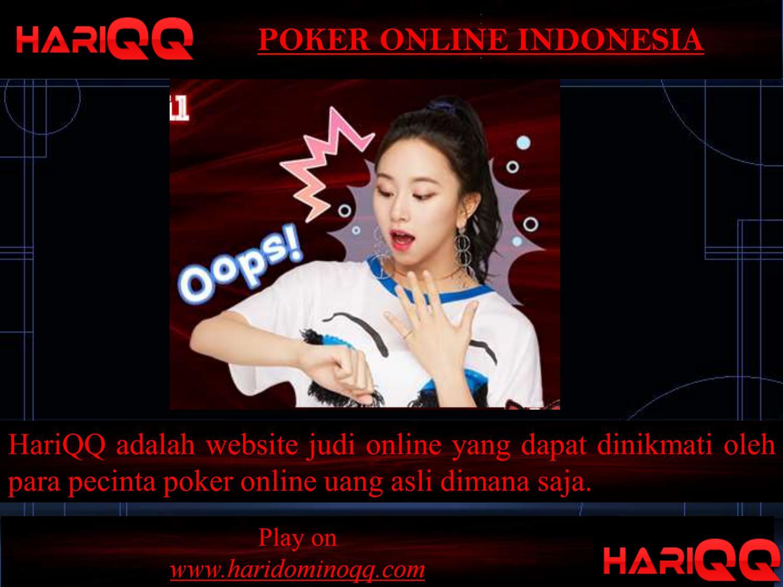 Poker Online Indonesia By Haridomino Qq Issuu