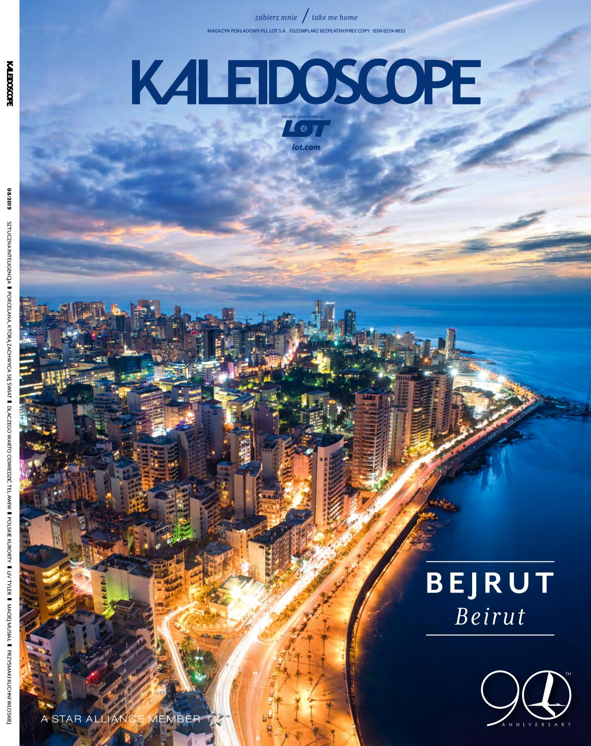 Kaleidoscope August 2019 By Lot Polish Airlines Issuu