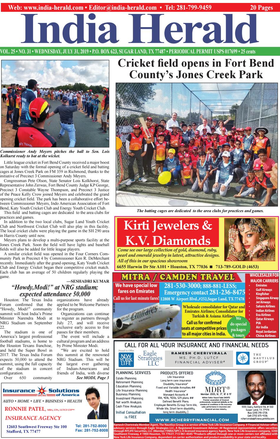 India Herald 073119 by Fort Bend Independent - issuu