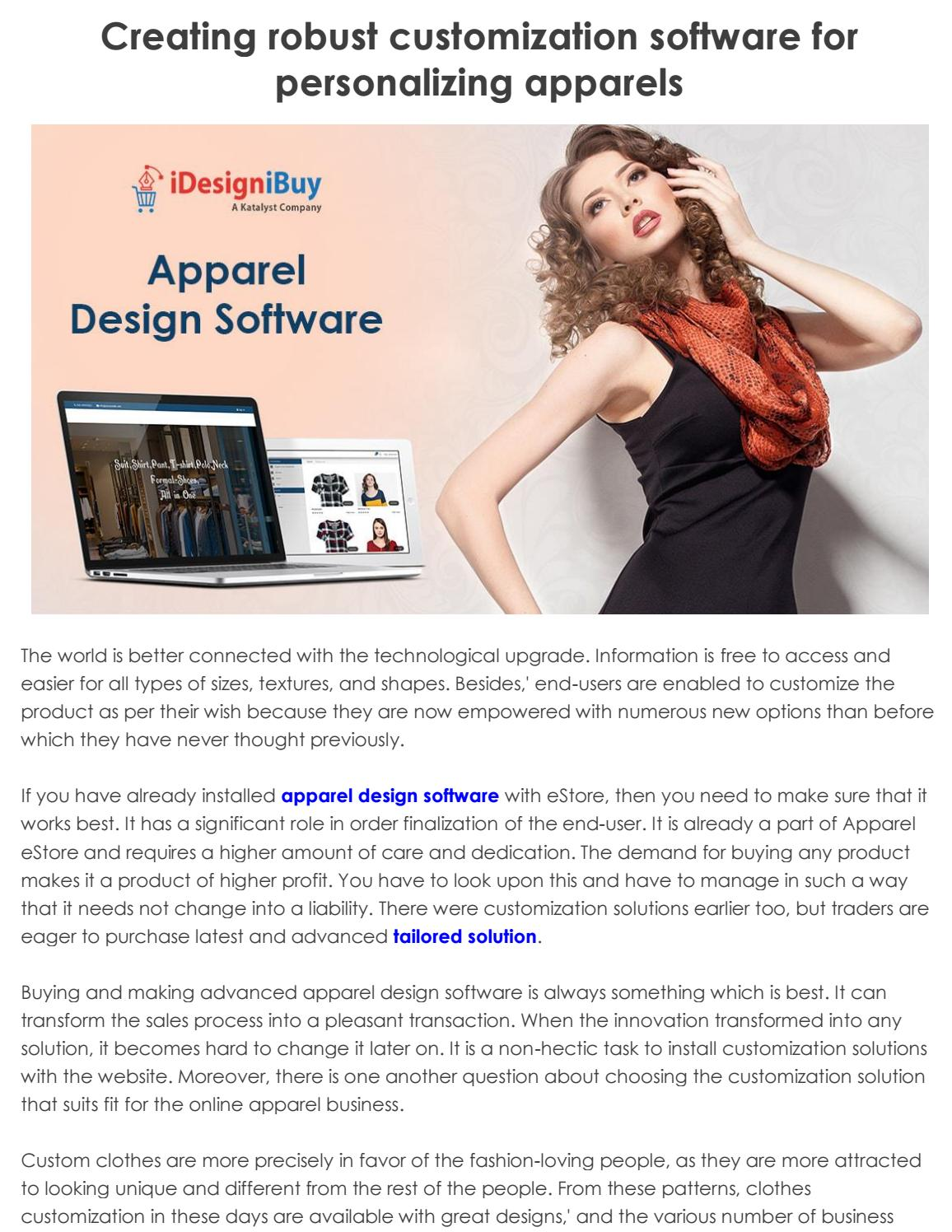 Creating robust customization software for personalizing