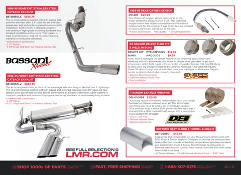 Page 21 of 1993-95 Gen 1 Lightning Exhaust