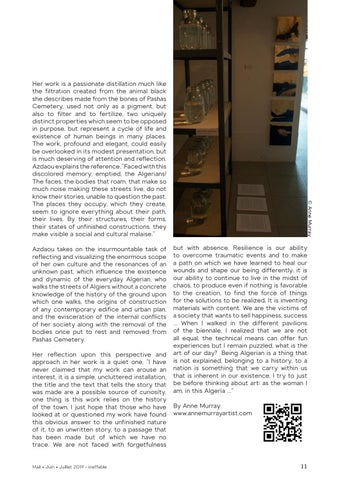 Page 11 of Time to Shine: the Algerian Pavilion a mirage or a miracle?